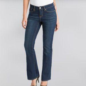 Levi's Denizen Curvy Bootcut Denim Blue Jeans